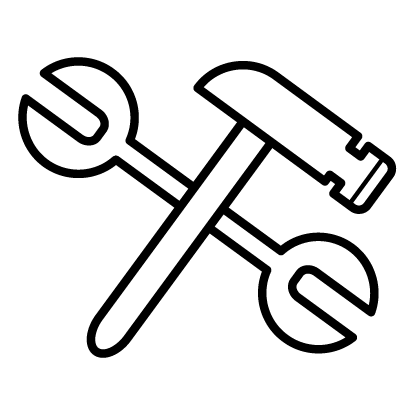 Hammer and Wrench image